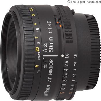 Nikon 50mm f/1.8D AF Lens
