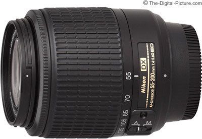 Nikon 55-200mm f/4-5.6G AF-S DX Lens