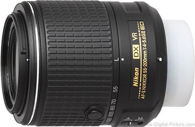 Nikon 55-200mm f/4-5.6G AF-S DX VR II Lens