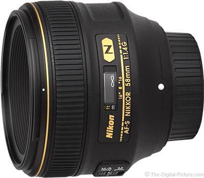 Nikon 58mm f/1.4G AF-S Lens