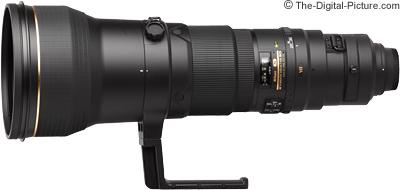 Nikon 600mm f/4G AF-S VR Lens