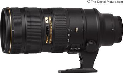 Nikon 70-200mm f/2.8G AF-S VR II Lens