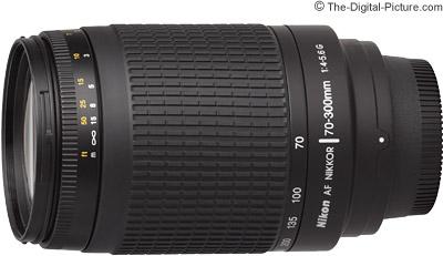 Nikon 70-300mm f/4-5.6G AF Lens
