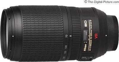 Nikon 70-300mm f/4.5-5.6G AF-S VR Lens