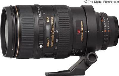 Nikon 80-400mm f/4.5-5.6D AF VR Lens