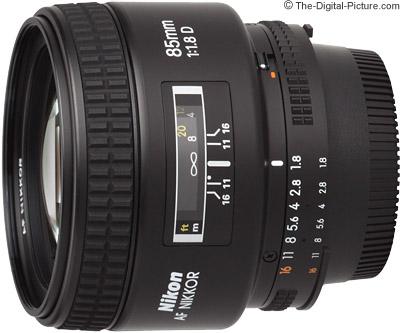 Nikon 85mm f/1.8D AF Lens