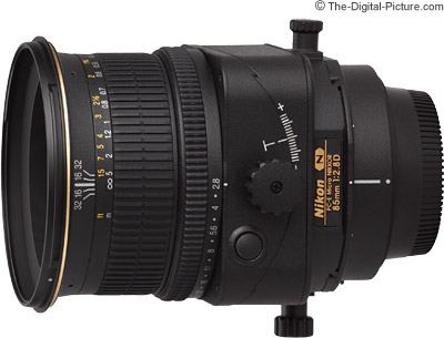 Nikon 85mm f/2.8D PC-E Micro Lens