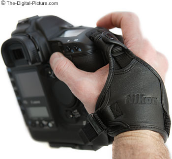 Nikon AH-4 Leather Hand Grip