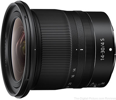 Nikon Releases 14-30mm f/4 S Lens for Z-mount Cameras