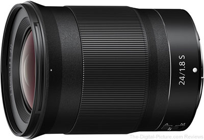 Nikon Z 24mm f/1.8 S Lens