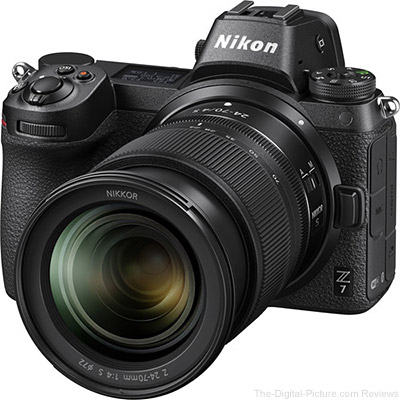 Great Deals on Used Nikon Z 7 Mirrorless Cameras