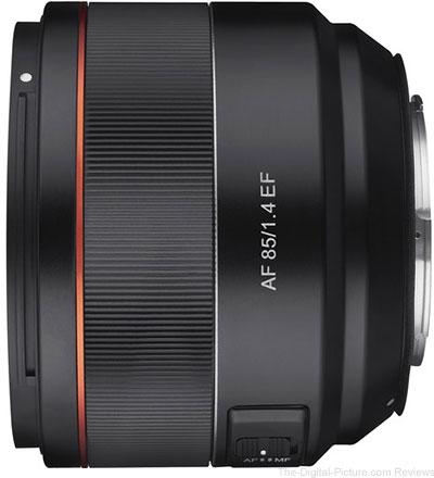 Rokinon AF 85mm f/1.4 Lens