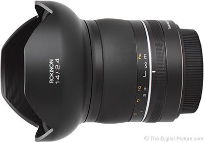 Rokinon SP 14mm f/2.4 Lens