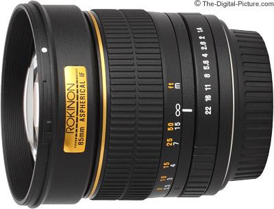 Samyang 85mm f/1.4 Lens