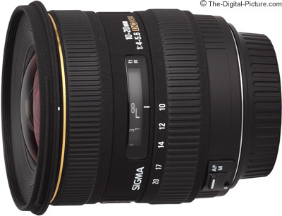 Sigma 10-20mm f/4-5.6 EX DC HSM Lens