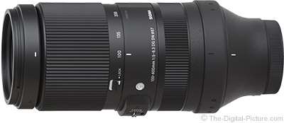 Sigma 100-400mm f/5-6.3 DG DN OS Contemporary Lens