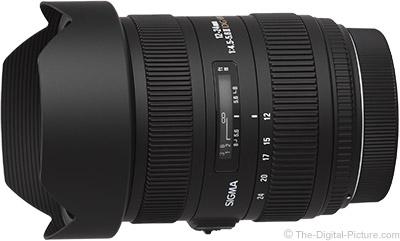 Sigma 12-24mm f/4.5-5.6 DG II HSM Lens