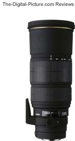 Sigma 120-300mm f/2.8 EX DG HSM Lens