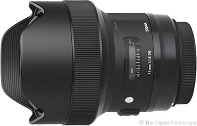 Sigma 14mm f/1.8 DG HSM Art Lens Image Quality Tested