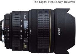 Sigma 15-30mm f/3.5-4.5 EX DG Lens