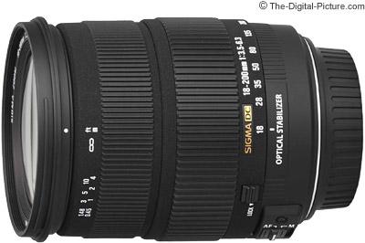 Sigma 18-200mm f/3.5-6.3 DC OS Lens