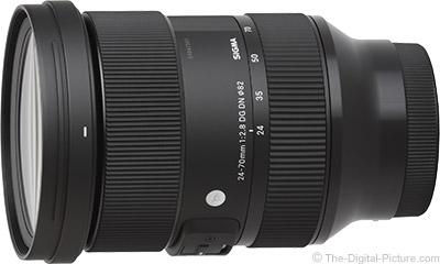 Sigma 24-70mm f/2.8 DG DN Art Lens
