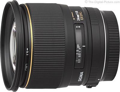 Sigma 24mm f/1.8 EX DG Lens