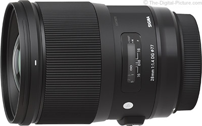 Sigma 28mm f/1.4 DG HSM Art Lens Available for Preorder