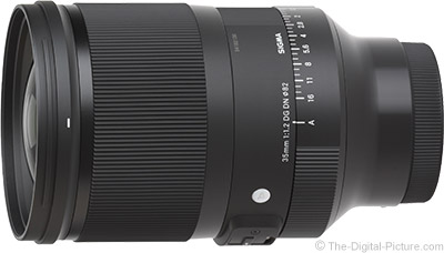 Sigma 35mm f/1.2 DG DN Art Lens