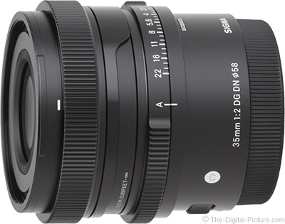 Sigma 35mm f/2 DG DN Contemporary Lens