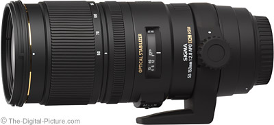 Sigma 50-150mm f/2.8 EX DC OS HSM Lens