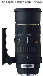 Sigma 50-500mm f/4-6.3 EX DG HSM Lens