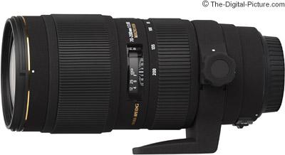 Sigma 70-200mm f/2.8 EX DG HSM II Macro Lens