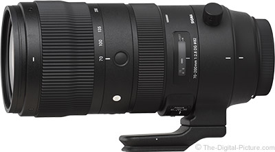 Sigma 70-200mm f/2.8 DG OS HSM Sports Lens Available for Preorder