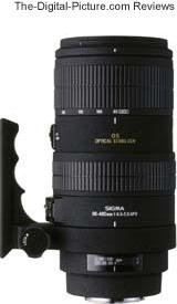 Sigma 80-400mm f/4.5-5.6 EX DG OS Lens