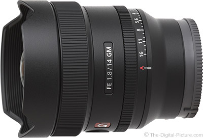 Just Announced: Sony FE 14mm F1.8 G Master Lens