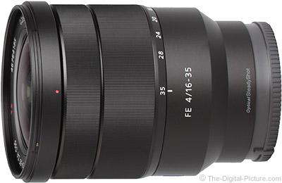 Sony FE 16-35mm f/4 ZA OSS Lens