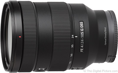 Sony FE 24-105mm f/4 G OSS Lens In Stock at Adorama