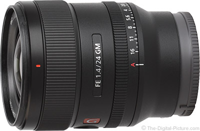 Sony Announces 24mm f/1.4 G Master Prime Lens
