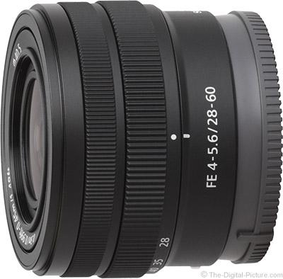 Sony FE 28-60mm f/4.5-5.6 Lens