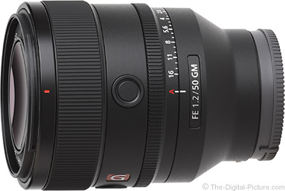 Sony Issues FE 50mm f/1.2 GM Lens Supply Notice