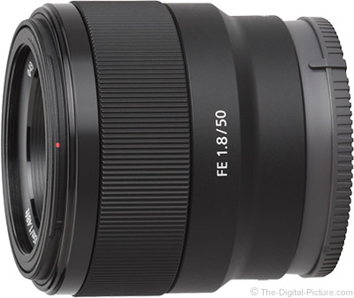 Sony FE 50mm f/1 8 Lens Review