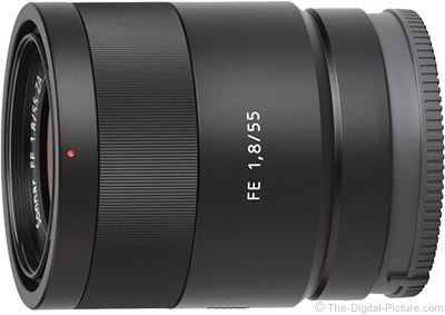 Sony FE 55mm f/1.8 ZA Lens
