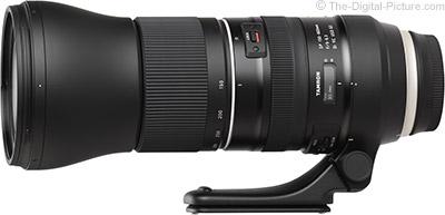 Tamron SP 150-600mm f/5-6.3 Di VC USD G2 Lens Solar Eclipse Kit - $1,499.00 Shipped (Reg. $1,699.00)