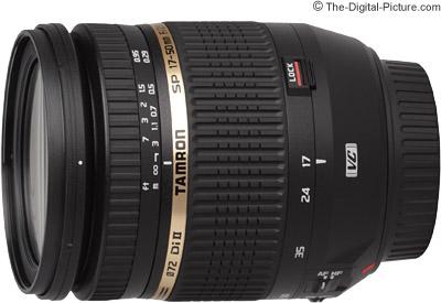 Tamron 17-50mm f/2.8 XR Di II VC Lens