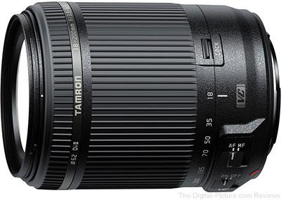 Tamron 18-200mm f/3.5-6.3 Di II VC Lens