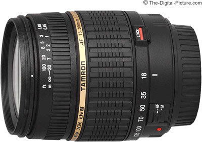 Tamron 18-200mm f/3.5-6.3 Di II Lens