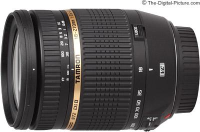 Tamron 18-270mm f/3.5-6.3 Di II VC Lens