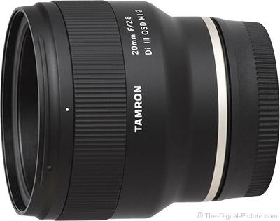 Tamron 20mm f/2.8 Di III OSD Lens