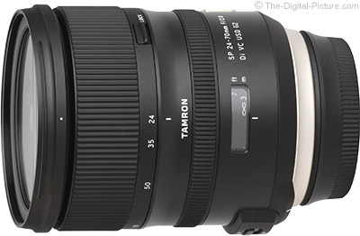 Tamron Introduces SP 24-70mm F/2.8 Di VC USD G2